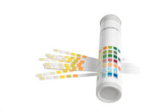 Indicateur de pH Photos stock