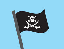Indicateur de pirate Images libres de droits