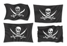 Indicateur de pirates illustration stock