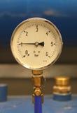 Indicateur de pression Images stock