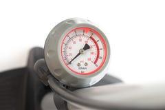 Indicateur de pression de pompe à bicyclette photo libre de droits