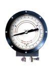 Indicateur de pression dynamique analogue d'estimation de grue Images libres de droits