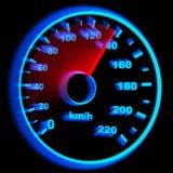 Indicateur de vitesse Images stock