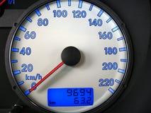 Indicateur de vitesse image stock