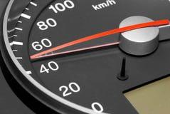 Indicateur de vitesse. Images stock