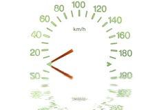 Indicateur de vitesse Photographie stock libre de droits