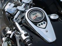 Indicateur de vitesse de moto. Photos libres de droits