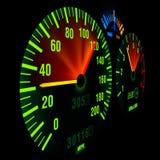 Indicateur de vitesse de vélo Image libre de droits