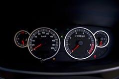 Indicateur de vitesse - tachymètre Images stock