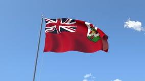indicateur des Bermudes illustration libre de droits