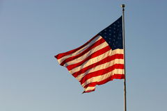 Indicateur des USA Photos stock