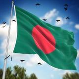 Indicateur du Bangladesh Image stock