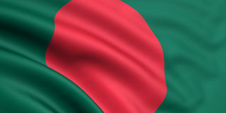 Indicateur du Bangladesh Photos libres de droits
