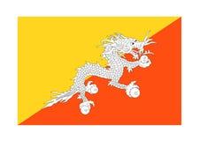 Indicateur du Bhutan Image stock