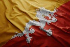 Indicateur du Bhutan Image libre de droits