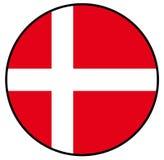 Indicateur du Danemark Image libre de droits
