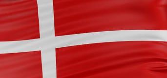 indicateur du danois 3D illustration de vecteur