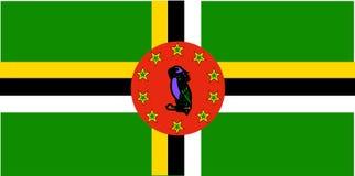 Indicateur du Dominica illustration libre de droits