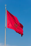 Indicateur du Maroc Photographie stock libre de droits