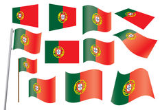Indicateur du Portugal Photos libres de droits