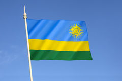 Indicateur du Rwanda Photo libre de droits