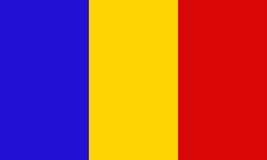 Indicateur du Tchad illustration stock