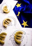 Indicateur et euro Images stock