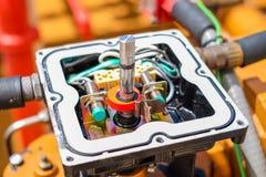 Indicateur et instrument de pression image stock