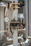 Indicateur et instrument de pression photographie stock