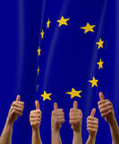 Indicateur européen Images stock