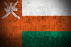 Indicateur grunge de l'Oman illustration libre de droits