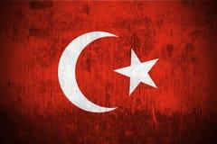 Indicateur grunge de la Turquie illustration libre de droits