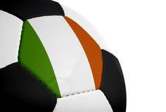 Indicateur irlandais - le football Photo stock