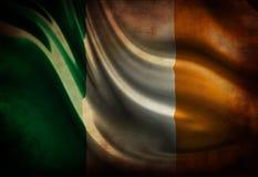 Indicateur irlandais usé Image libre de droits