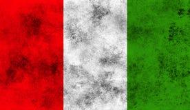 indicateur Italie Vieux fond grunge patriotique de cru illustration libre de droits