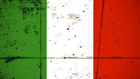 indicateur Italie Vieux fond grunge patriotique de texture de cru ?l?ment de conception illustration stock