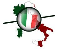 Indicateur italien illustration de vecteur