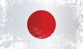 indicateur Japon Taches sales froissées illustration de vecteur