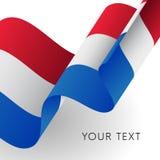 Indicateur néerlandais Vecteur illustration libre de droits