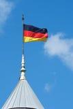 Indicateur national allemand Photo libre de droits