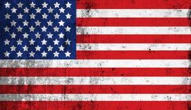 Indicateur national américain affligé illustration de vecteur
