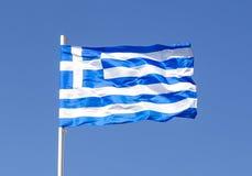 Indicateur national de la Grèce image stock