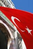 Indicateur national de la Turquie photographie stock