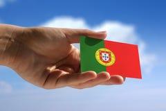 Indicateur national du Portugal Photographie stock libre de droits