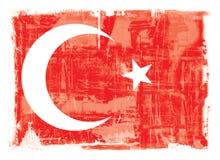 Indicateur national turc illustration stock