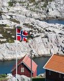 Indicateur norvégien Photo libre de droits