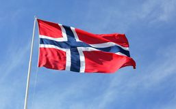 Indicateur norvégien photos stock
