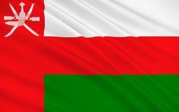 indicateur Oman illustration stock