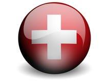Indicateur rond de la Suisse Illustration de Vecteur