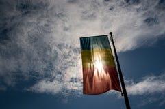Indicateur roumain photographie stock